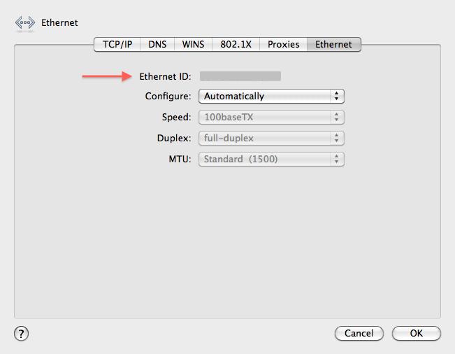 Mac Network Settings Advanced