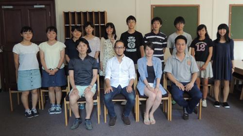 Kimata with outreach group Jul 2016