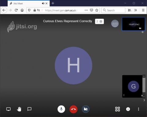 Jitsi Meet meeting